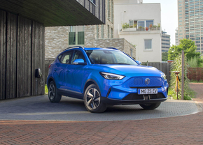 MG ZS EV facelift 2021