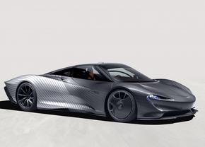 McLaren speedtail Albert 2021