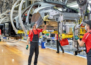 Porsche chiptekort productie