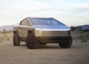 Tesla cybertruck productie
