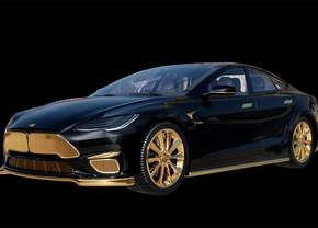 Tesla Model s Plaid Caviar Model Excellence 24K