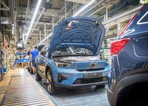 Volvo C40 Recharge productie Gent