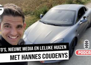Autofans podcast Hannes Coudenys