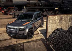 Land Rover Defender rouille Niels van Roij