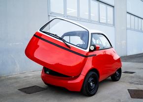 Microlino Micro EV prototype (2021)