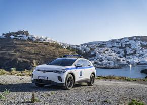 VW Greece EV island