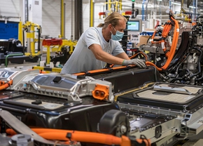 Volvo Gent productie elektrische auto's