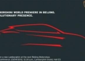 Lamborghini plaagt met silhouette op uitnodiging