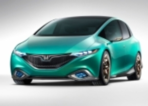 Honda Concept S is groen