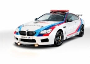BMW M6 coupe MotoGP safety car 2012