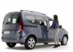 Promovideo toont achterzijde van de Dacia Dokker