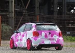 Deze roze Polo is... apart