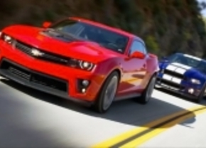 Ford Mustang Shelby GT500 vs Chevrolet Camaro ZL1 2012