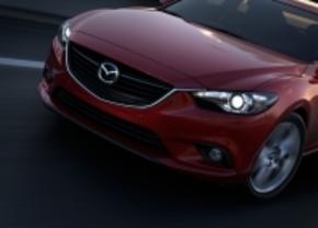Nieuwe Mazda6 staat in Moskou