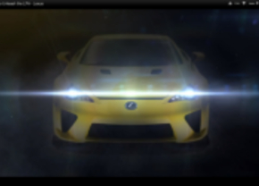 lexus unleash the LFA