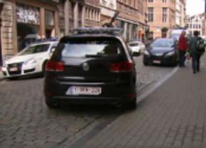 Golf GTI Brusselse politie
