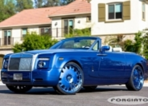 drophead blue alloy wheels