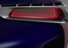 Teaser: Lexus toont achterlicht van nieuwe concept car