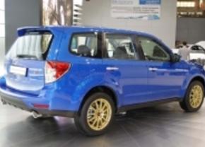Moscow Motor Show: Subaru bracht de Forester TS mee