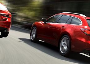 Eerste foto's: Mazda6 Wagon