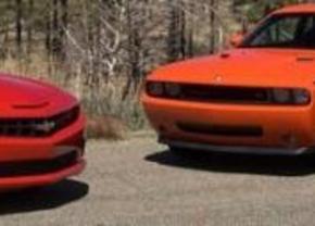 Muscle car comparison