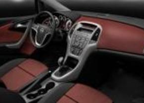 Interior Opel Astra 2010