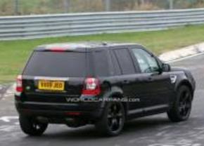 Land Rover LRX mule