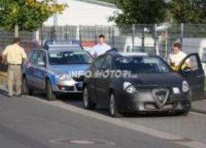 Alfa 149 caught by Polizei