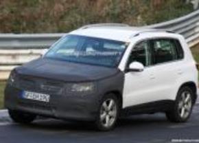 2011 Volkswagen VW Tiguan spyshot