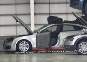 Audi A7 spyshot