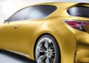 Lexus Lf-Ch concept Frankfurt 2009