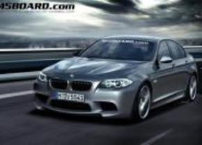 BMW M5 F10 render