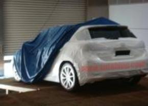 Lexus LF-Ch spyshot