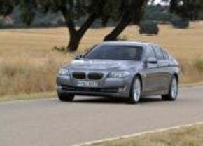 BMW 5-reeks hybride in Genève