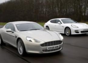 Aston Martin Rapide vs Porsche Panamera Turbo