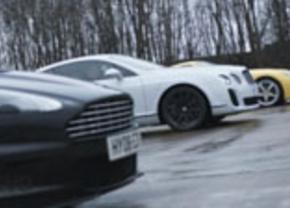 Bentley supersports vs aston martin dbs vs Ferrari 599 hgte