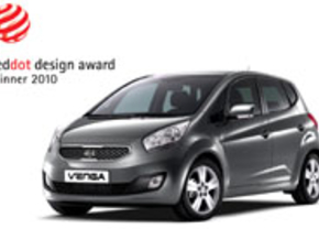 Kia Venga Red Dot award