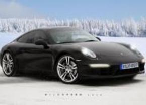 Porsche 911 render 991