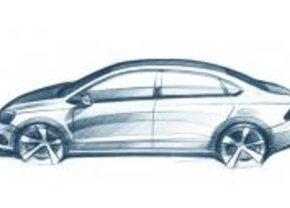 Volkswagen Polo Berline 2010 schets