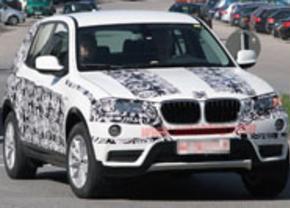 BMW X3 2010 spyshot