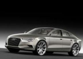 Audi A7 en S8 in Parijs