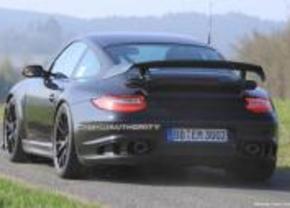 Porsche 911 GT2 facelift gespot