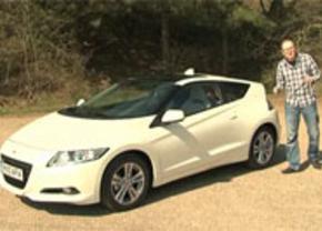 Honda CR-Z test