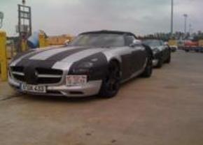 Spyshots SLS AMG Roadster