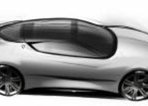 Lancia Concept sketch drawings