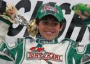 11 jarige krijgt contract bij Ferrari