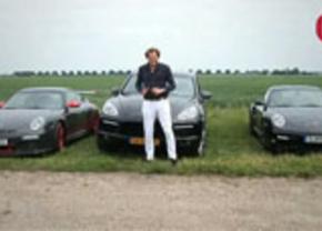 Sjoerd test de Porsche 911 GTS RS, 911 Turbo S en Cayenne Turbo