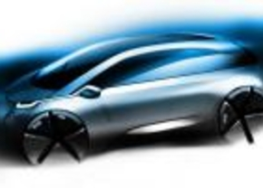 Eerste schets: BMW Megacity EV