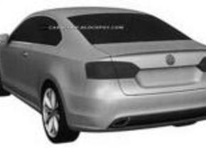 Patentbeelden voor VW Jetta coupé