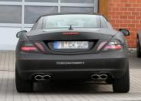 Mercedes benz SLK AMG 2010 spy